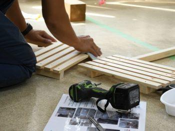 木工教室終了